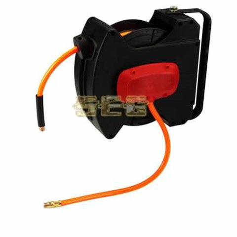3/8 in. x 20 ft. Enclosed Retractable Air Hose Reel