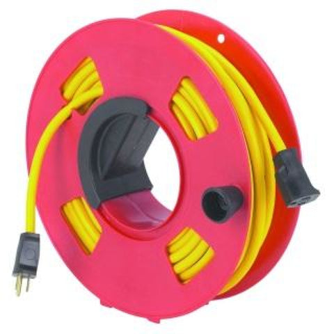 Extension Cord Reel with 50ft Power Cord Complete ARCMP190