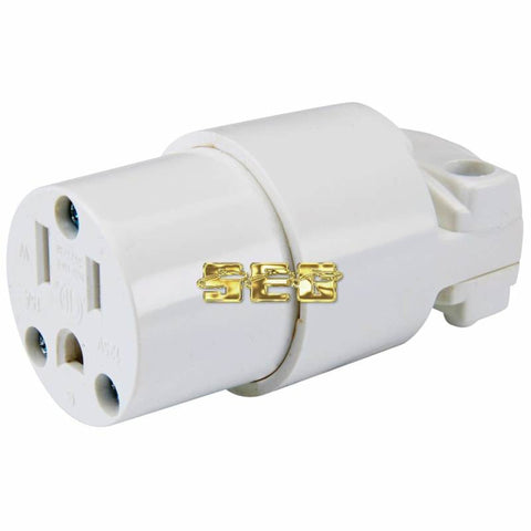 125 Volt, 15 Amp Female Plug Connector SEGELECSLDTL106