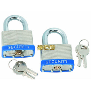 Keyed-Alike Padlocks 2 Pc SEGSECAL1083