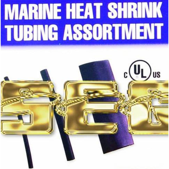 42 Pc Marine Heat Shrink Tubing Assortment With Case