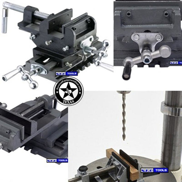 CROSS VISE Milling Press Cross Vise Heavy Duty STEEL Don't be fooled by Imitation that sell for $49 vise10A4