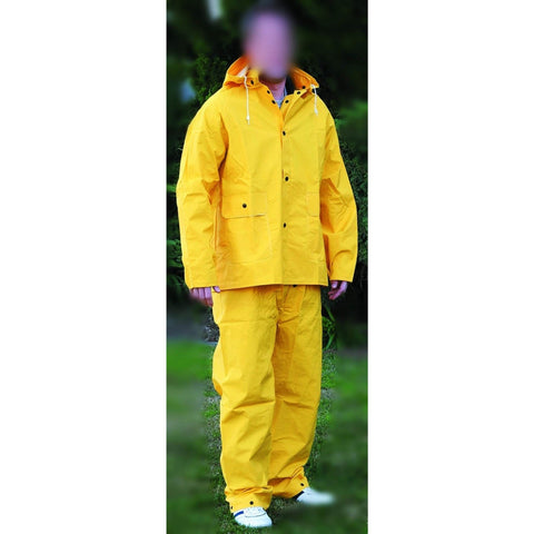 Yellow Rain Suit, Large SEGSAFEV103