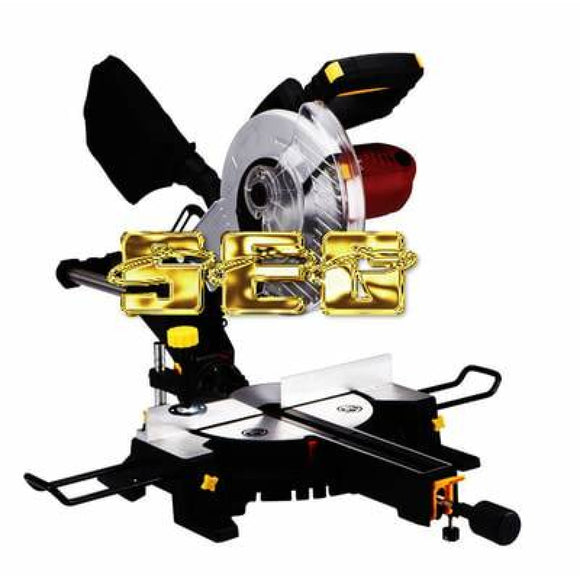 Miter Saw With Laser Guide System SEGMITERSAW101