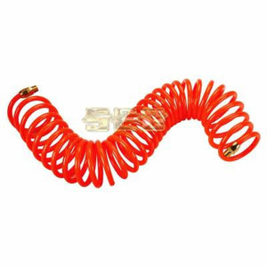 1/4 in. x 25 ft. Coiled Polyurethane Air Hose