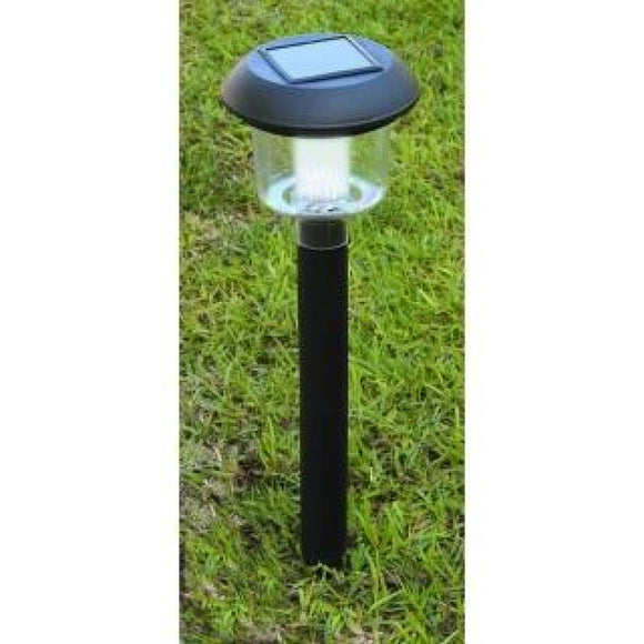 Solar Lights Solar Walkway Light 2 pc Save Money In Black secure-S.E.G.100064