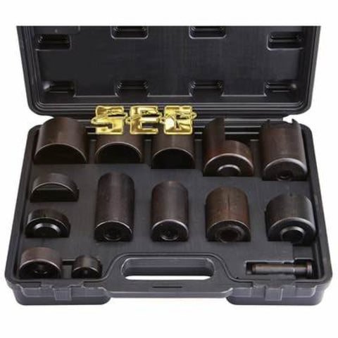 Master Ball Joint Adapter Set includes receiver tubes and adapters