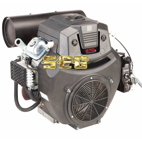 Pressure Washer SEG9A49 22 HP (670cc) V-Twin Horizontal Shaft Gas Engine EPA