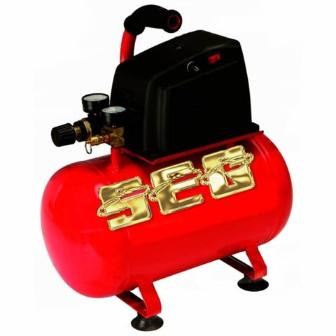 Air Compressor items 3 gal. 1/3 HP 100 PSI Oilless Hotdog Air Compressor