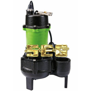 Water Pump,Funtains,Hoses 1/2 HP Submersible Sewage Pump with Tether Switch