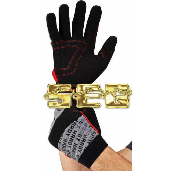 X-Large Padded Mechanic's Gloves