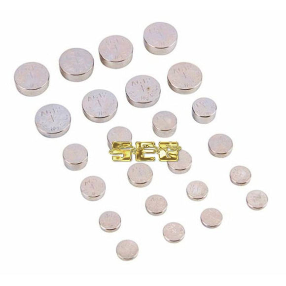 24 Pc Button Cell Battery Multi-Pack