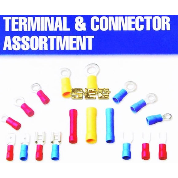 30 Pc Watertight Heat-Shrink Butt Connector Assortment