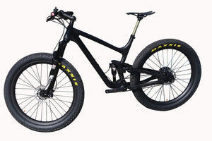 27.5er Plus Carbon Suspension Bike P8 - Everything Crunk
