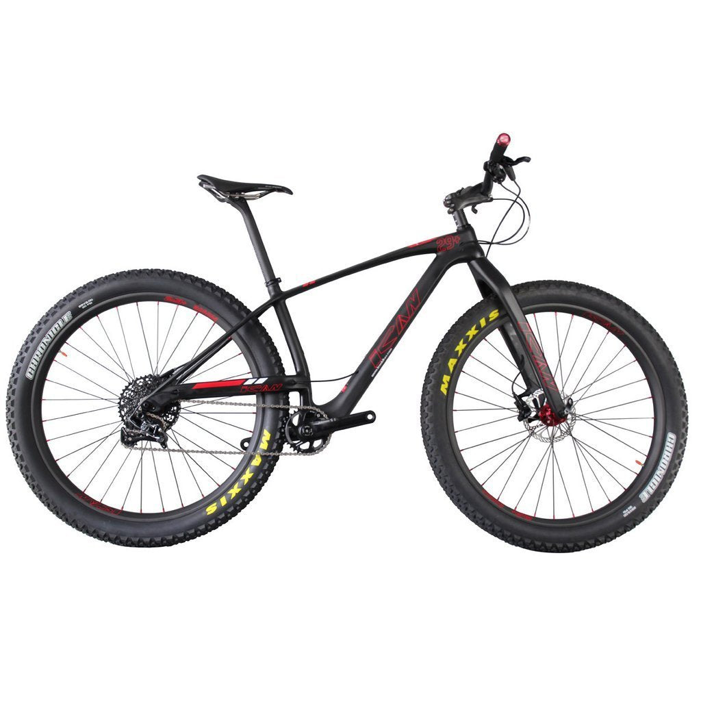 29+ Carbon Mountain Bike - Everything Crunk
