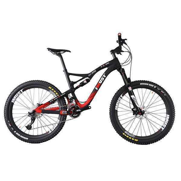 27.5er Plus Suspension All Mountain Bike S7 - Everything Crunk