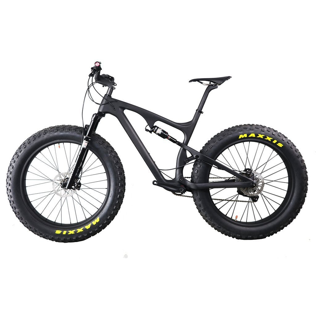 Carbon Full Suspension Fat Bike - Everything Crunk