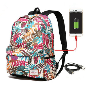 """College Girl"" Backpack - Everything Crunk"