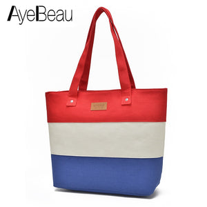 """Madam Belle"" Canvas Big Beach Tote Bag - Everything Crunk"