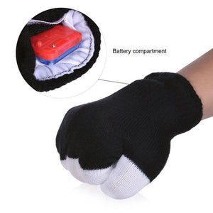 """Life Of The Party"" LED Gloves - Everything Crunk"