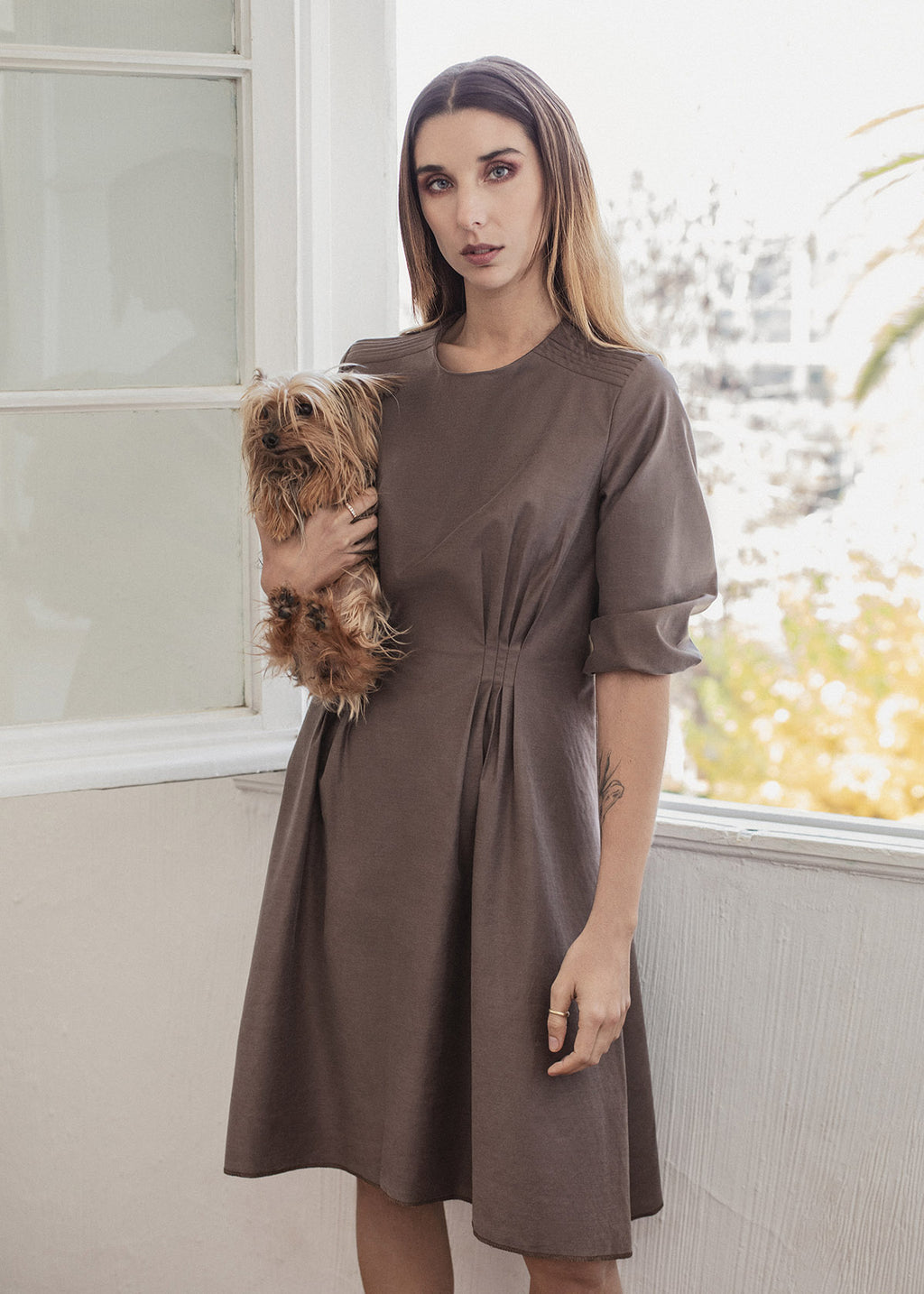 Vicuña dress