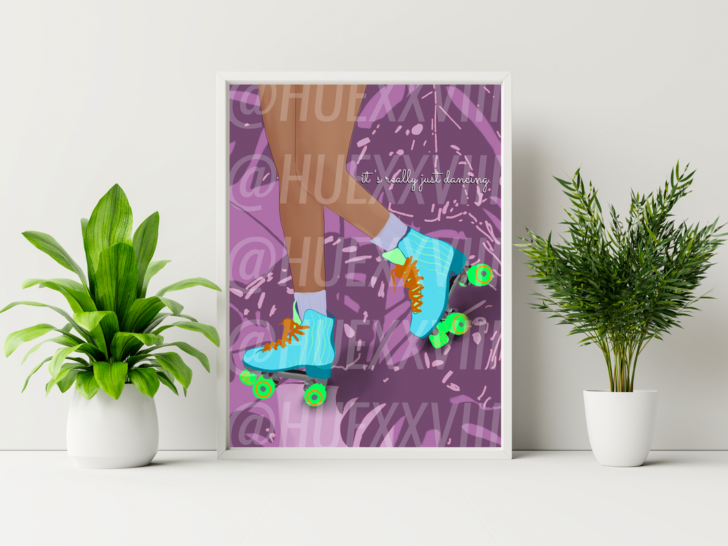 Push It Baby Art Print