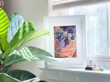Load image into Gallery viewer, Orange Dreams Framed Original Art