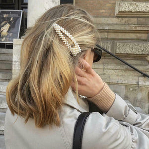 1PC/2PCS New Fashion Women Pearl Hair Clip