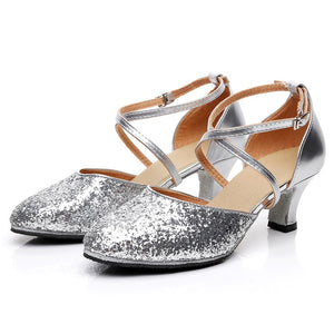 2019 Women's Ballroom Bling Shoes - Multi Colors