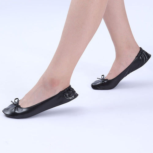 Woman's Foldable Dancing Comfortable Ballroom Shoes