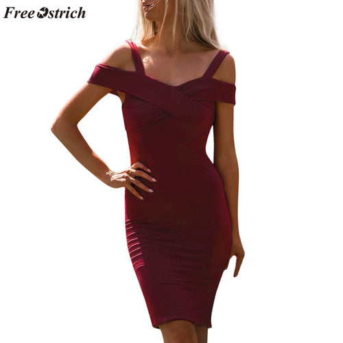 Women's Dress - Ballroom Short Sleeve Slim Casual Style