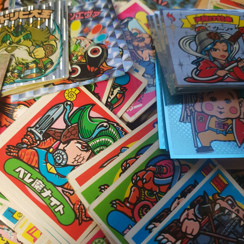 Bikkuriman Sticker Mystery Packs (4 STICKERS PER PACK)
