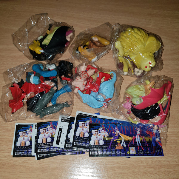 Darkstalkers Gashapon Mini Figure Set #2