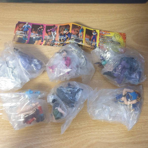 Capcom Gals Collection - Gashapon Mini Figures - ALL 6 TYPES