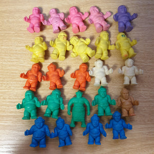 24x Sumo Wrestler Keshi Lot
