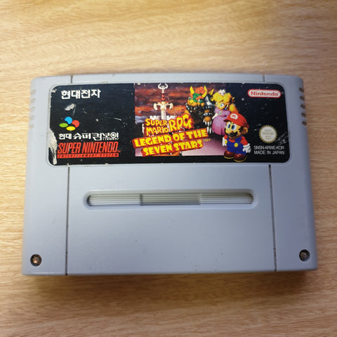 Super Mario RPG - Hyundai Super Comboy Korean Version