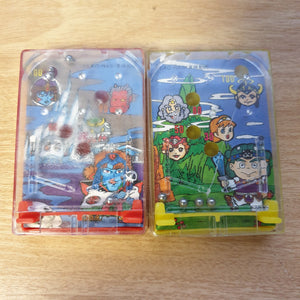 2x Bikkuriman Mini Game Things (1988)