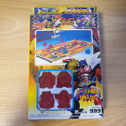 Beast Wars (Transformers) Japanese Board Game w/ 8 Keshi Pieces