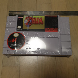 Legend of Zelda - A Link To the Past / Oversized Cart w/ T-shirt (Medium)