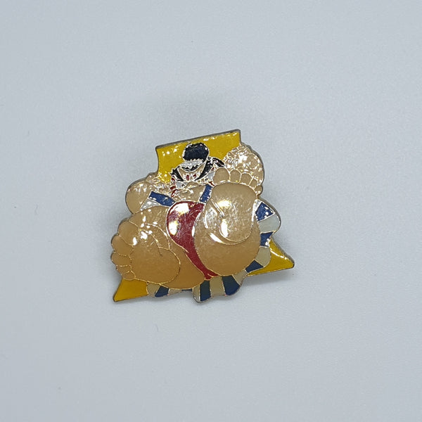 Street Fighter Enamel Pin - E. Honda #9 - 20191111
