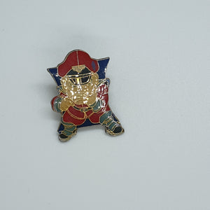 Street Fighter Enamel Pin - M. Bison #7 - 20191111
