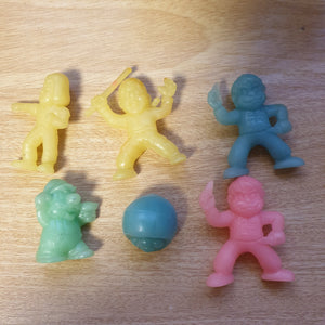 Nintendo Keshi Set - GID Colors (6 pieces) - 20200110