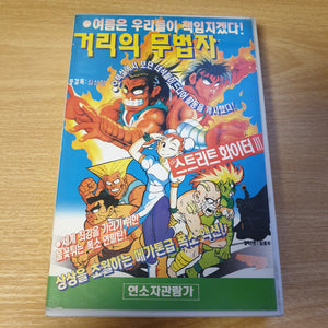 Unlicensed Korean Street Fighter Animated Movie - VHS