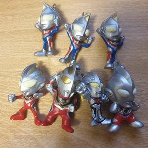 Ultraman Hero Mini Figure Lot #1 - 20200118