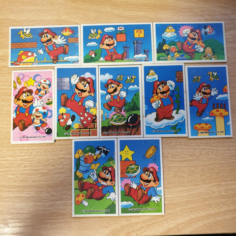 Menko Card Lot - Super Mario - 20200119
