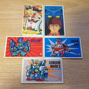 Menko Card Lot - Mobile suit Gundam - 20200119