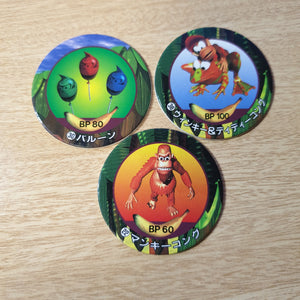 Donkey Kong Country Pog Set - J02