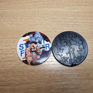 Street Fighter Pog Set - J02