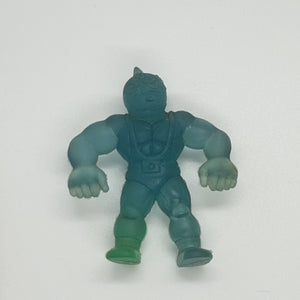 Kinkeshi - Kinnikuman - Clear Blue (SLIGHTLY STAINED) - 20200220KINB1