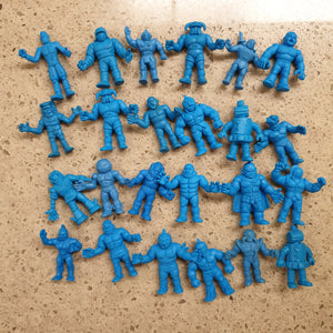 Good Condition (MOSTLY) Kinkeshi Lot - Blue - 24 Pieces - 20200221KINLOT